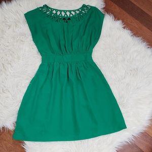 Forever 21 Sleeveless Braided Dress
